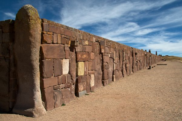 Mother Earth Temple of Tiwanaku, Bolivia