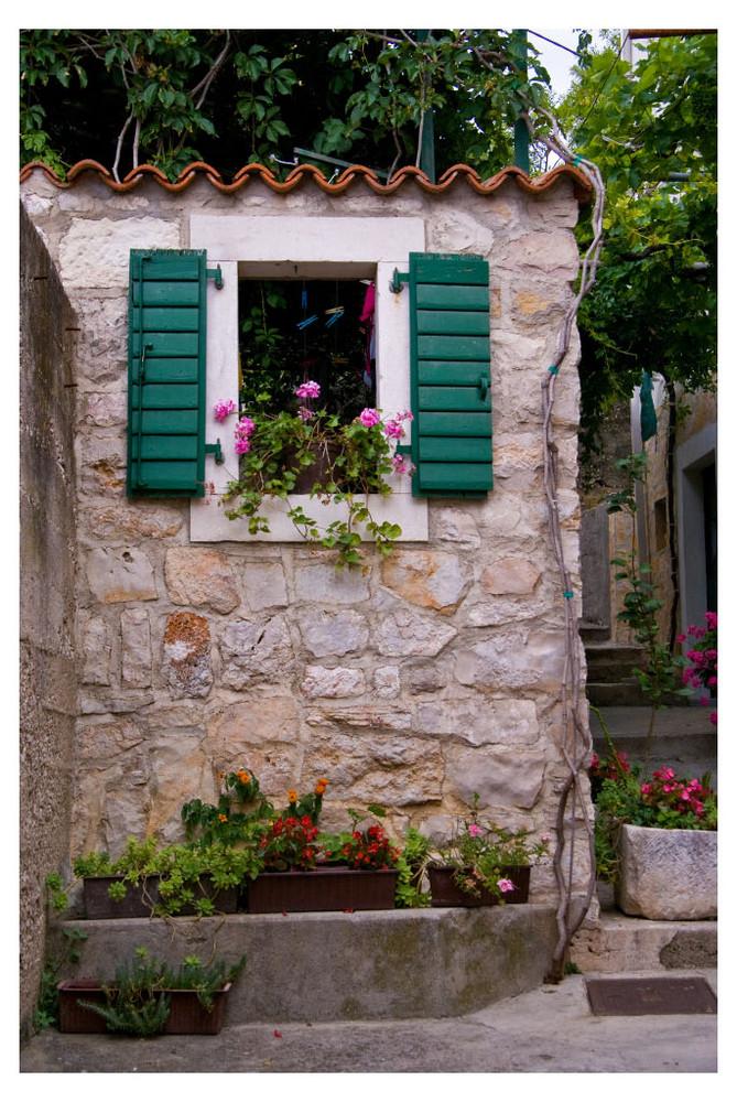 Motif de village-Croatie