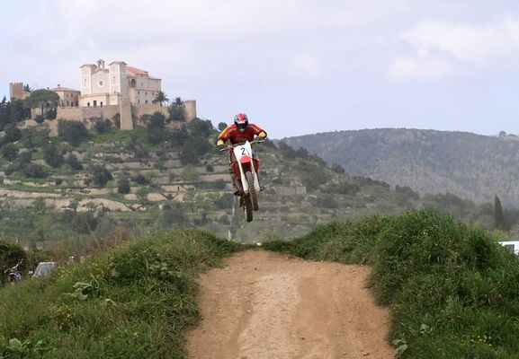 Moto Cross auf Mallorca
