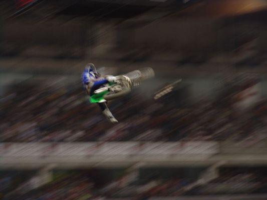 Moto cross jump