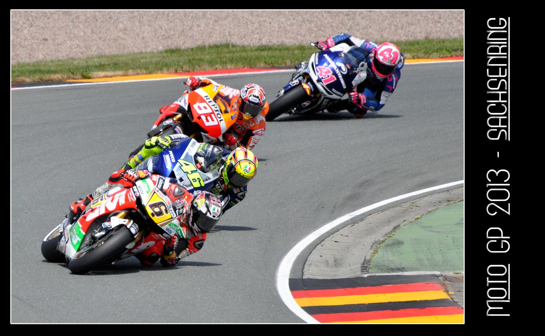 Moto GP 2013 - Am Sachsenring