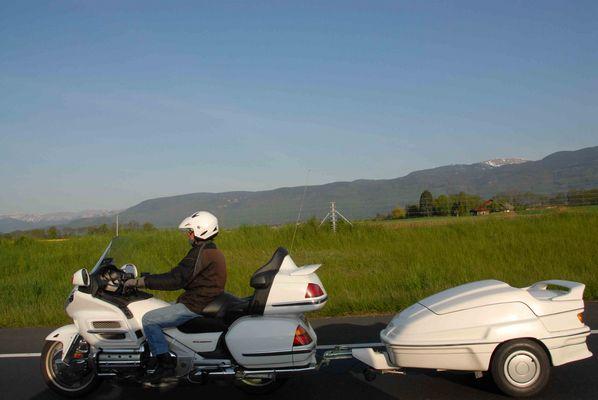 Moto pour partir en vacances