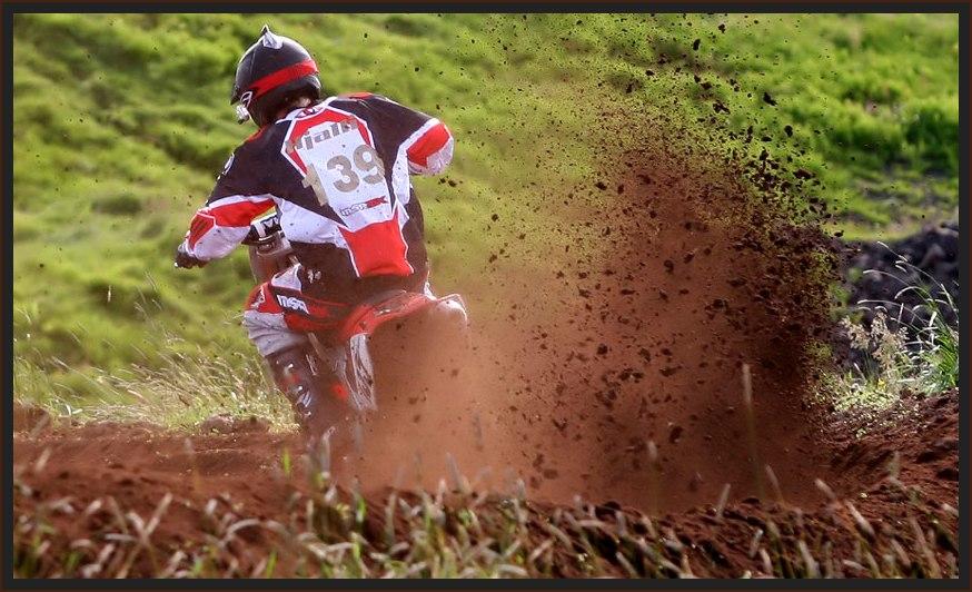 Motocross in Island