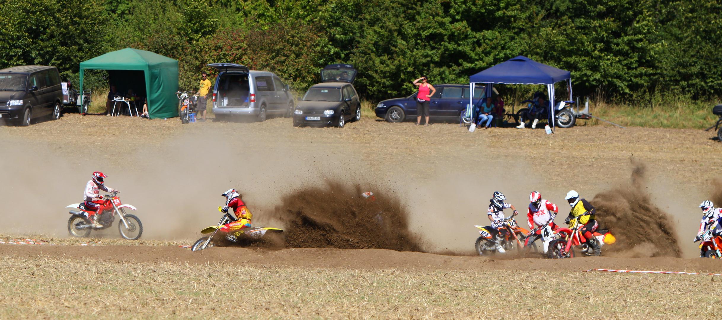 MotoCross-Rennen