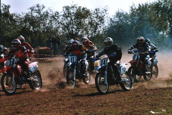 Motocross-Start