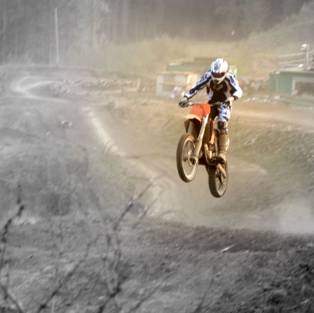 Motocross-Training im Sauerland
