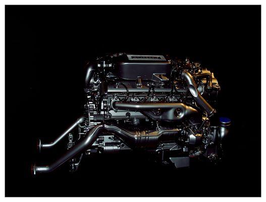 Motor des Bentley Sportprototypen Bentley EXP Speed 8
