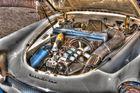 Motor eines Auto Union 1000 SP