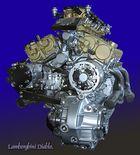 Motor eines Lamborghini Diablo.
