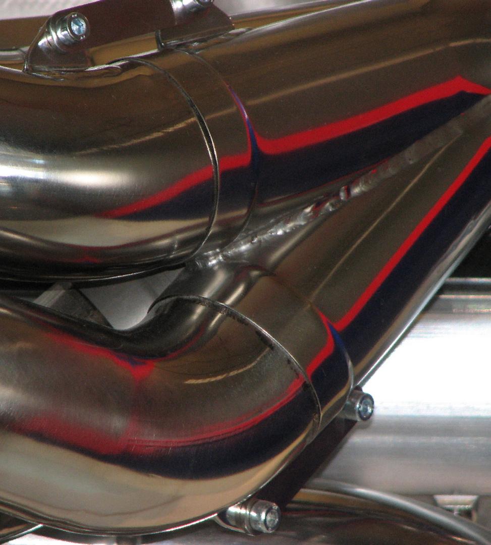 Motor in der BMW-Welt