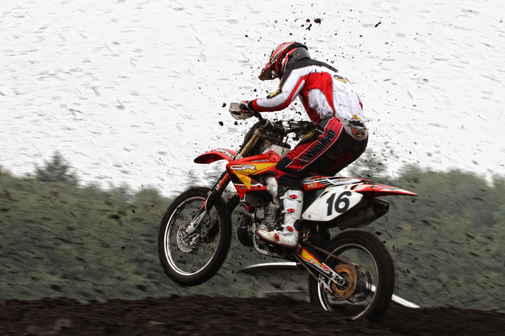 Motorcross Rennen Fatz Cup