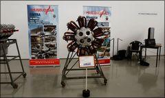 Motore di vecchia aeronave