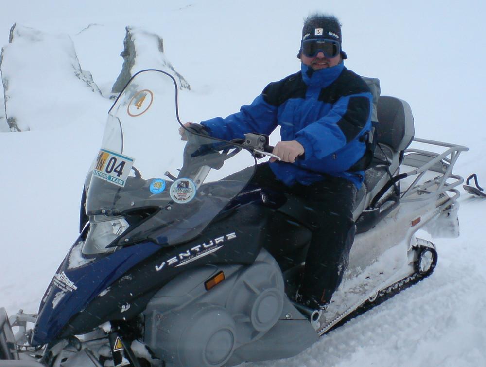 Motorrad im Winter