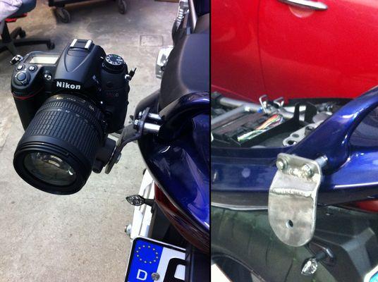 Motorrad Kamerastativ