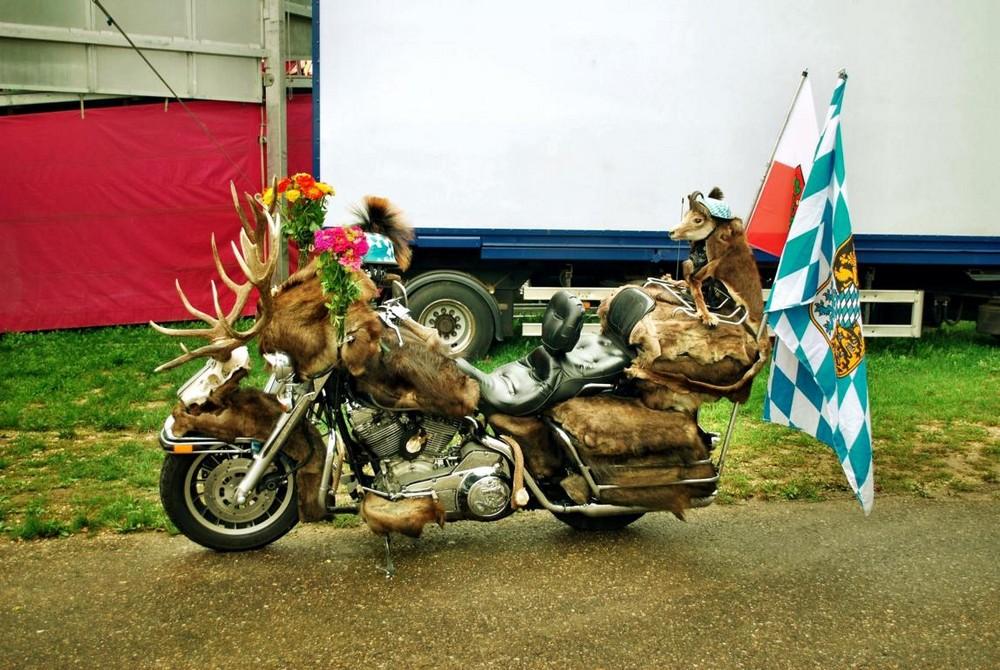 Motorrad - Kirchweih Eichstett