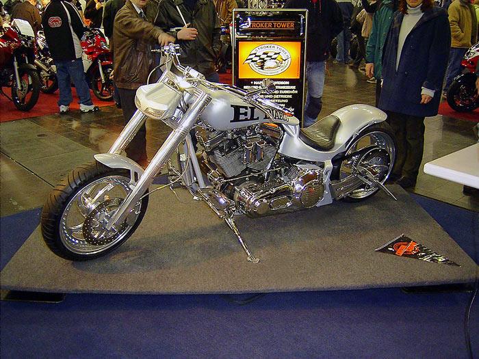 Motorrad Messe in Magdeburg