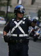 Motorrad Polizist Boston