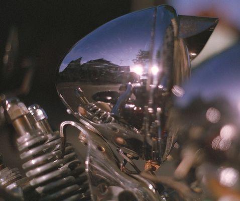 Motorrad-Scheinwerfer