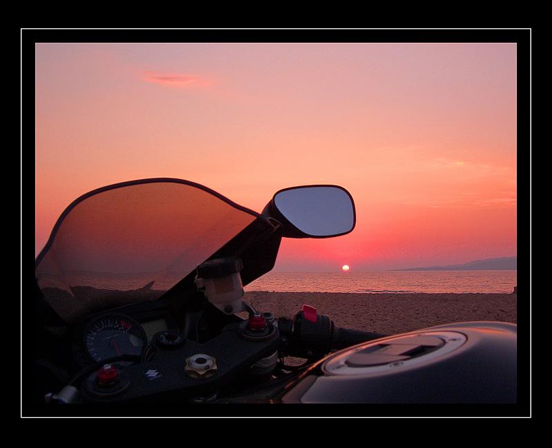 Motorrad Sehnsucht