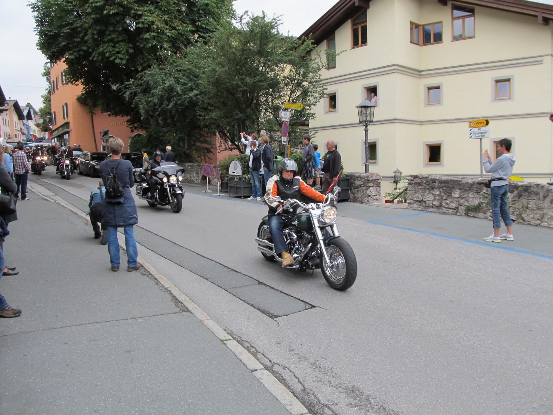 Motorradfest in Kitzbühel