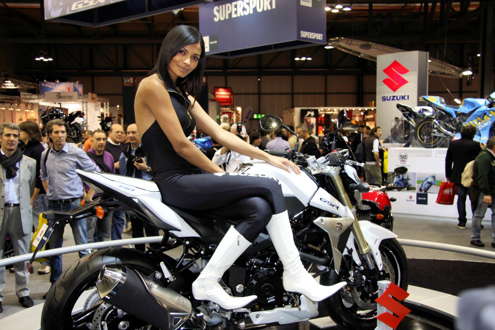Motorradmesse Mailand fieramilano Suzuki GSR 750