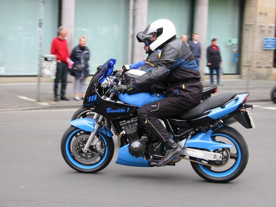 Motorradtage in Münster 2002