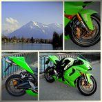 Motorradtour . . . .                                                                 un tour en Moto