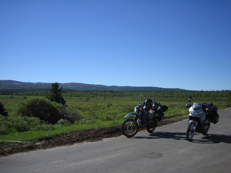 Motorradurlaub in Skandinavien