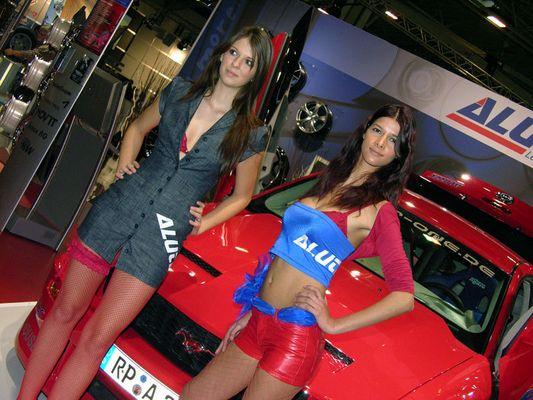 Motorshow Essen - Die Penthouse Girls