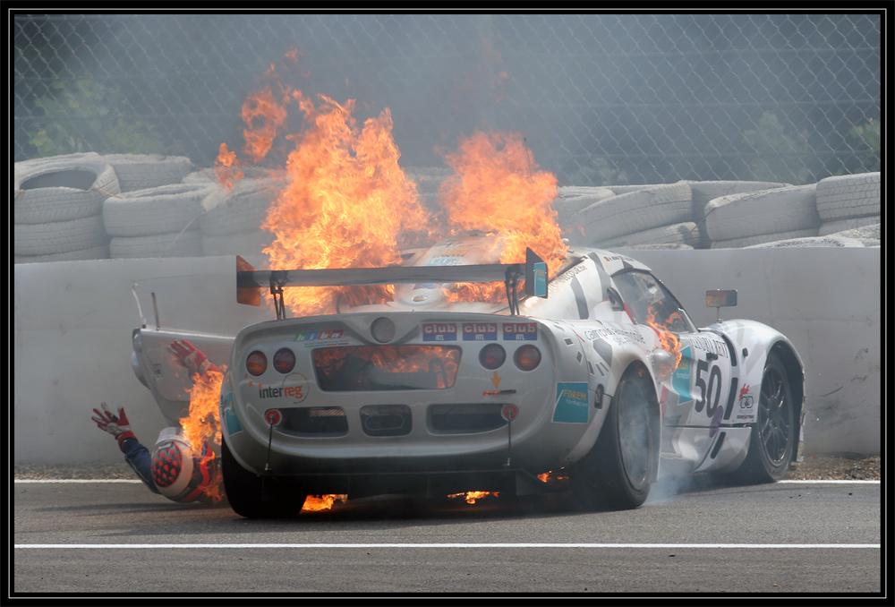 Motorsport is dangerous
