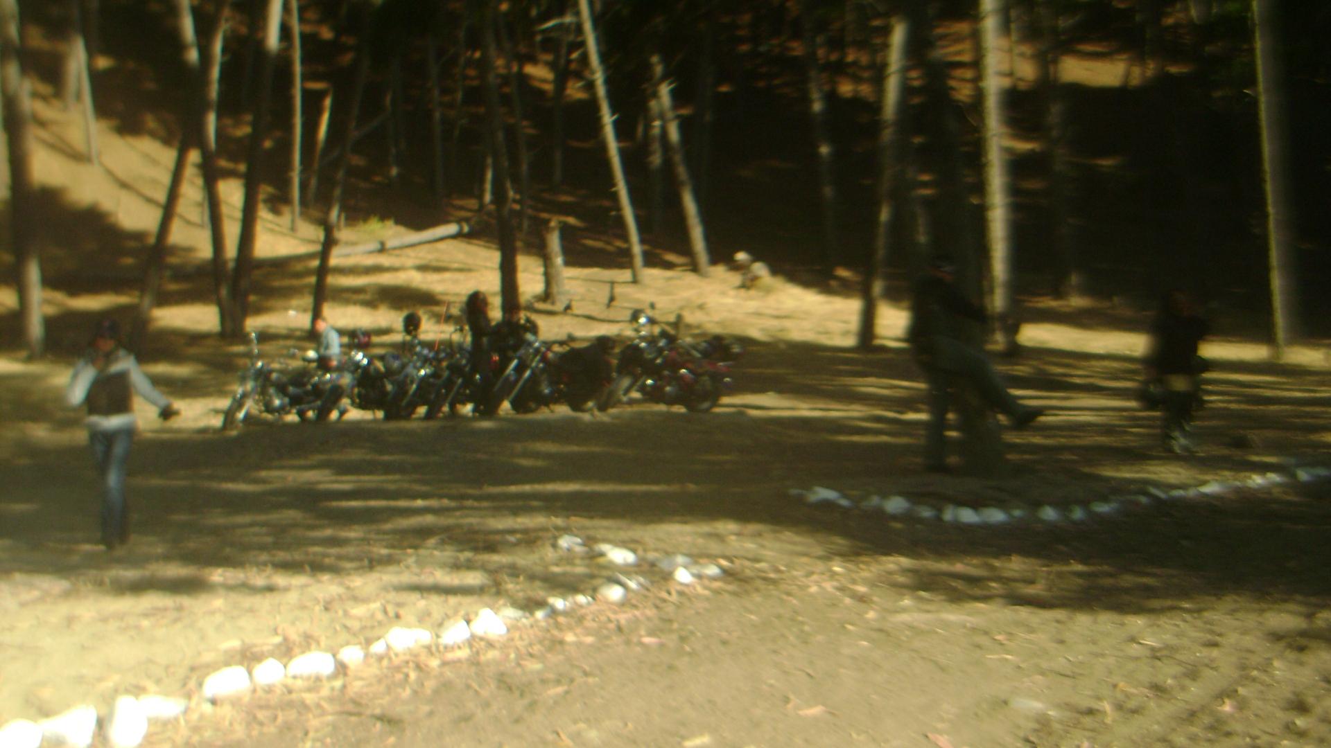 motos en la playa