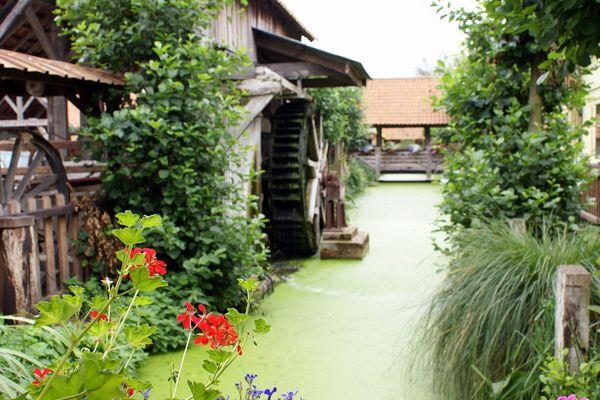 Moulin à eau - Ecomusée de GUINES(P.de Calais)