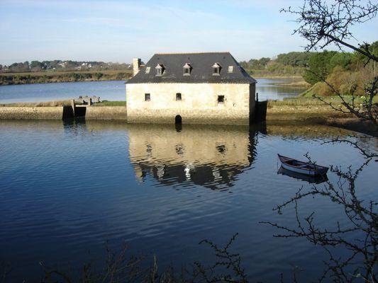 Moulin à eau en Bretagne
