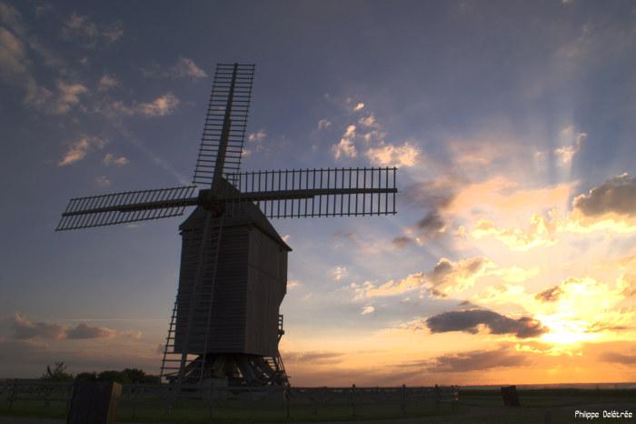 Moulin de Valmy au petit matin