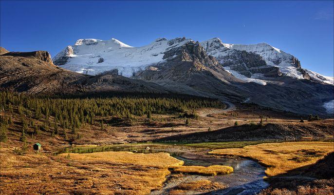 Mount Athabasca & Mount Andromeda