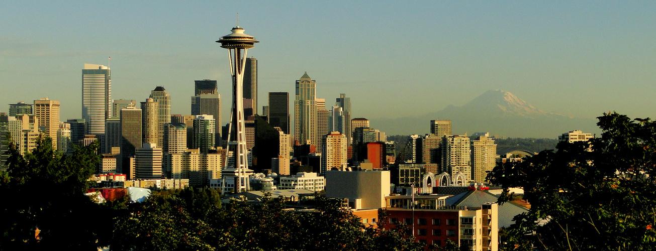Mount Baker & DT Seattle, WA..