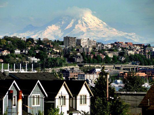 Mount Baker from Seattle, WA..