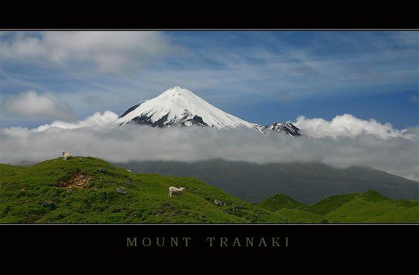 Mount Egmont oder Mount Taranaki