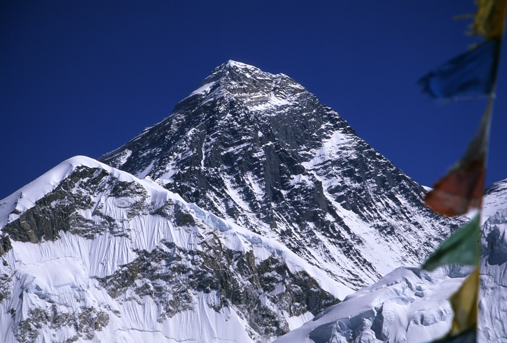 Mount Everest (8.850m) - Edmund Hillary (* 20. Juli 1919 in Auckland; † 11. Januar 2008)