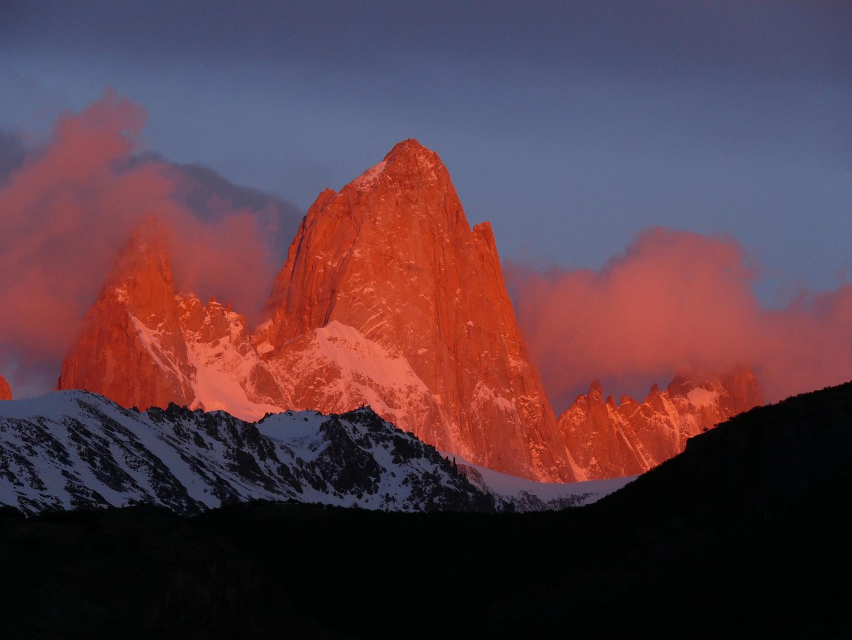 Mount Fitz Roy Argentinien