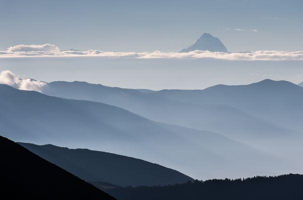 Mount Gongga (Minya Konka), 7.556 Meter