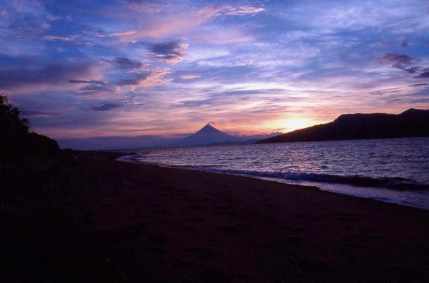 Mount Mayon, Philippinen Mai 2000