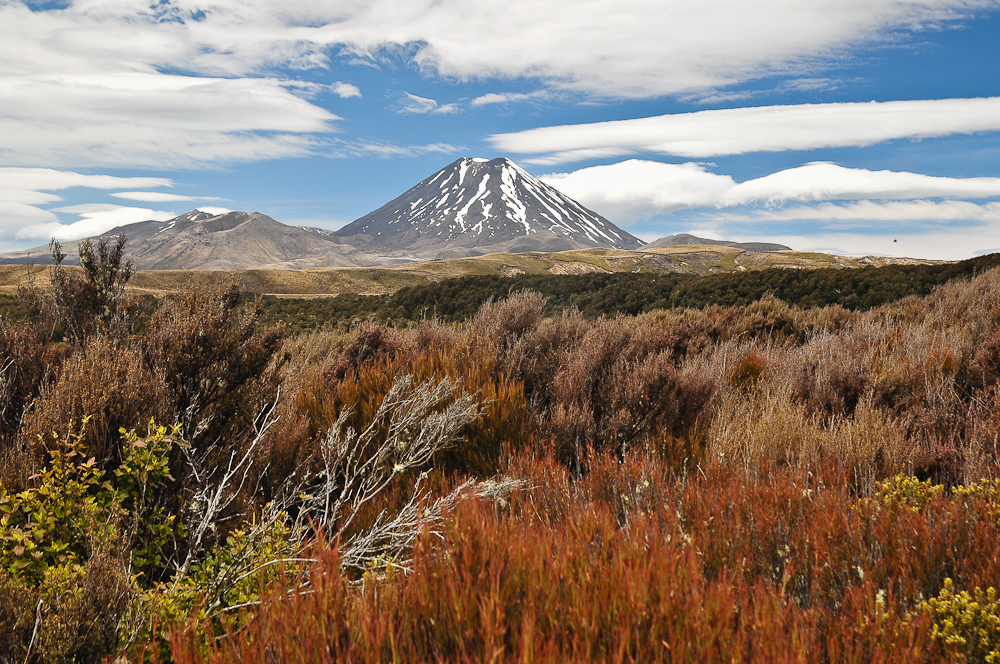 Mount Ngauruhoe, Tongariro Nationalpark, NZ