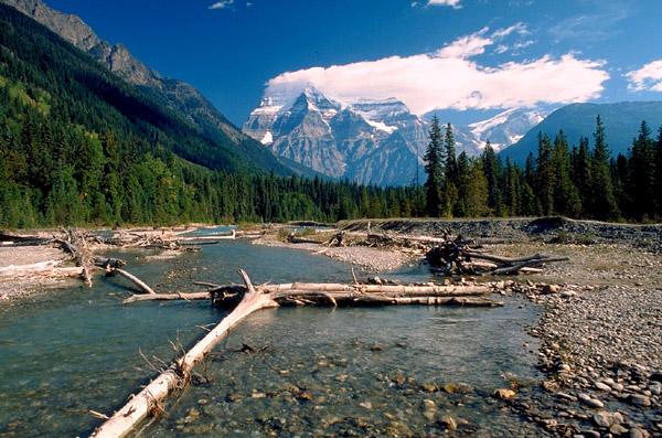 Mount Robson und Robson River