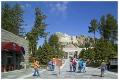 Mount Rushmore, Entrance, oder....
