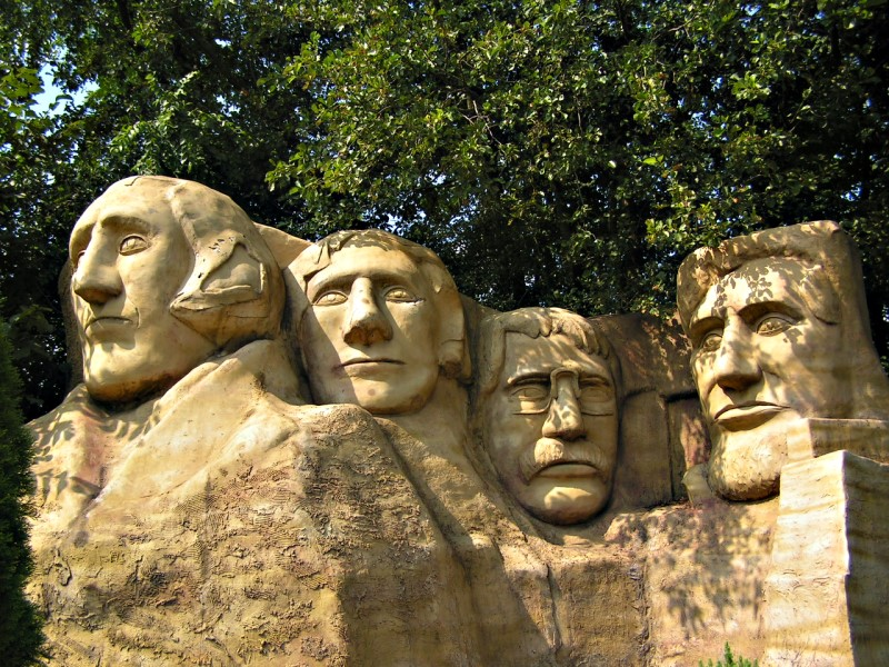 Mount Rushmore mal anders...
