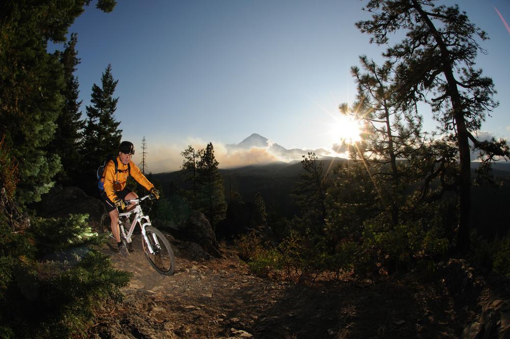 Mountain Bike in Oregon
