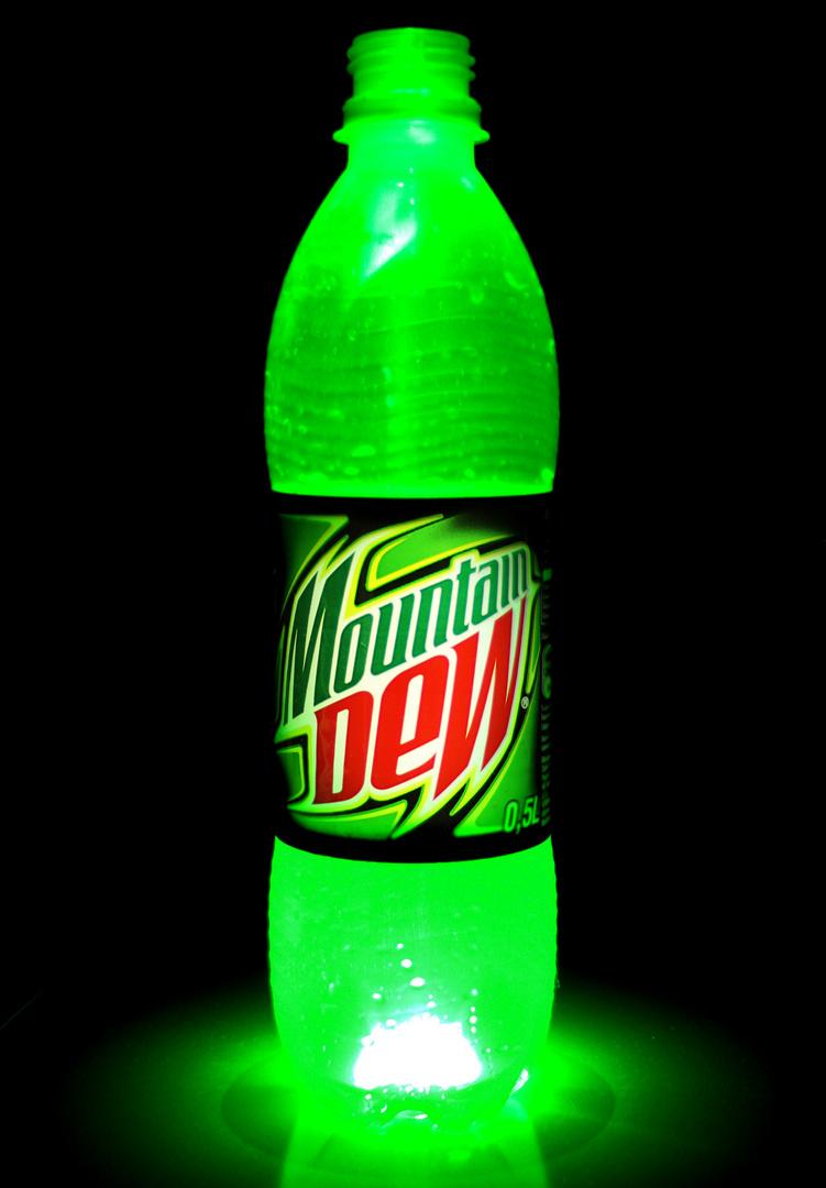 Mountain Dew- Lasergreen
