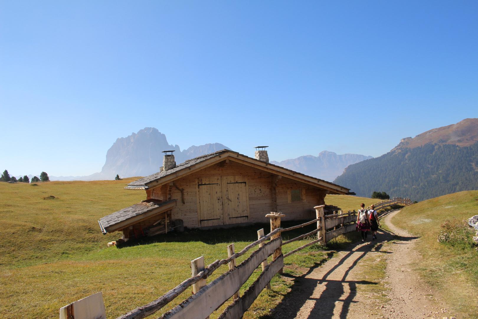 Mountain feeling in Val Gardena