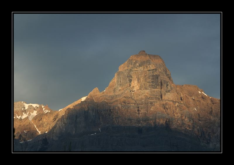 Mountain Peak, Banff National Park